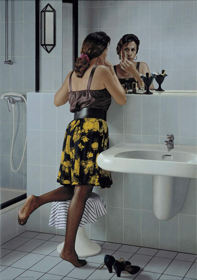 Woman in Front of a Mirror II